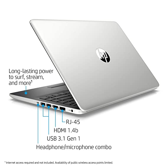 Amazon.com: HP 14-inch Laptop, 8th Generation Intel Core i3-8130U Processor, 4 GB SDRAM, 128 GB Solid State Drive, Windows 10 Home in S Mode (14-df0020nr, ...