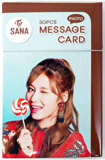 Amazon com: NAYEON TWICE - PHOTO MESSAGE CARD PHOTOCARD