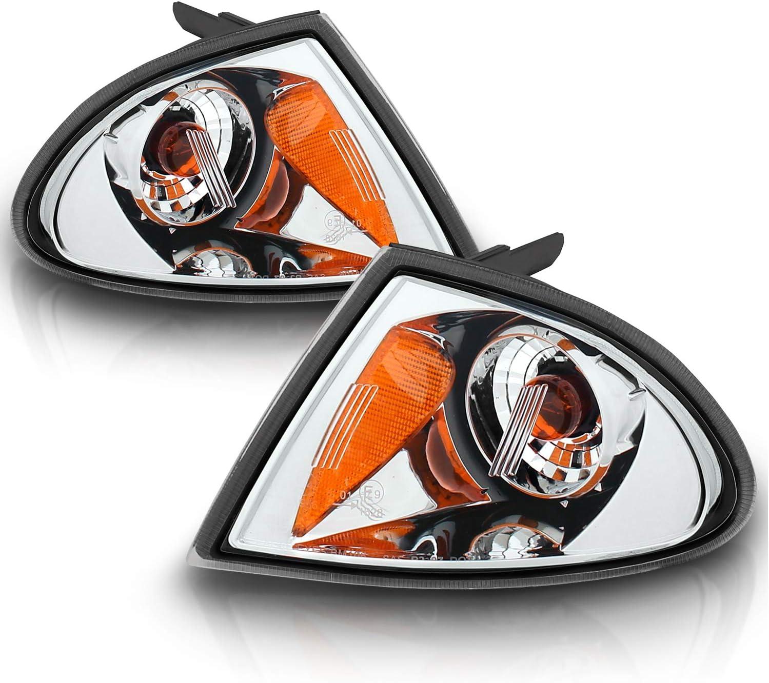 AmeriLite 4Door Corner Lights Light Lights Clear for BMW M3 3 Series Passenger and Driver Side