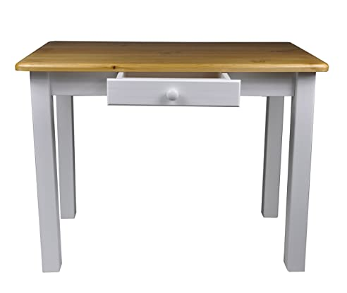 Esstisch Mit Schublade Küchentisch Tisch Restaurant Massiv Holz