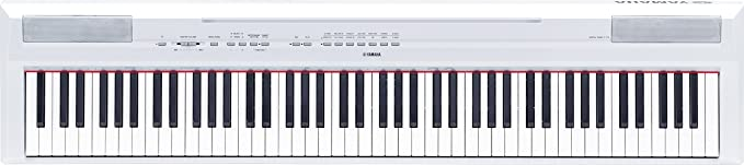 Yamaha P-115WH - Piano digital, color blanco