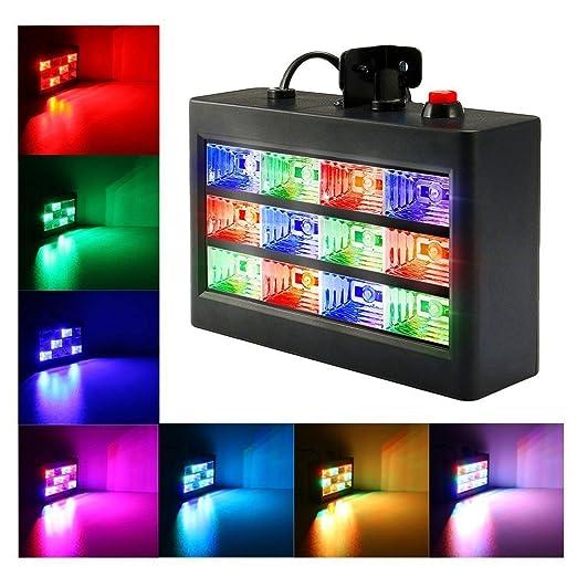 62 opinioni per SOLMORE luci da palco luci da discoteca Proiettore Strobo stroboscopica luci dj