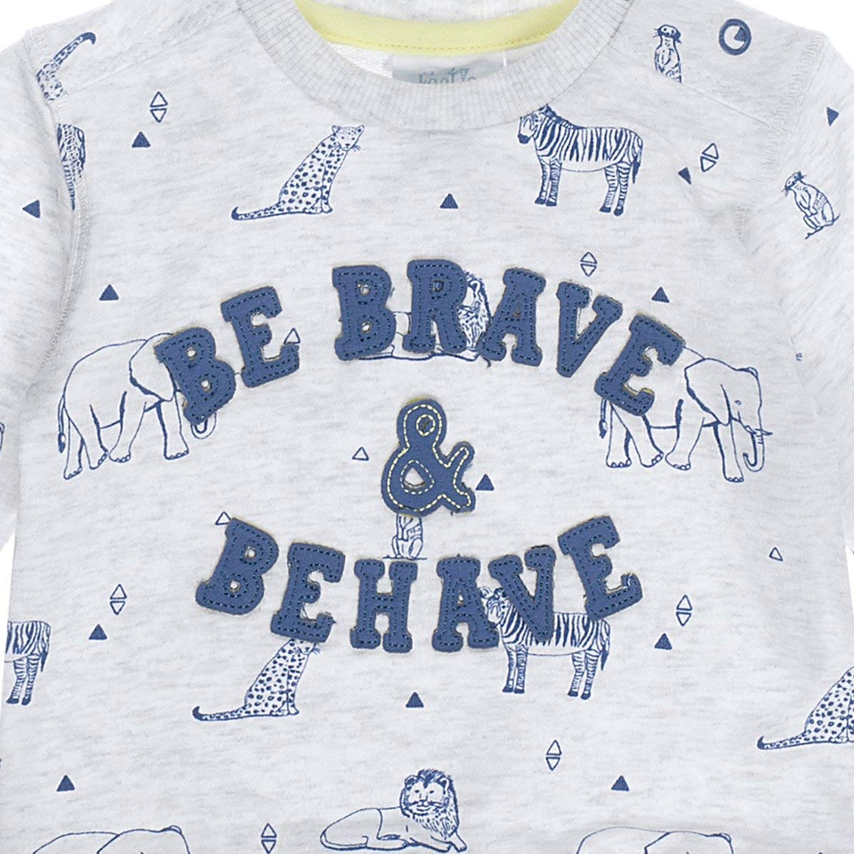Feetje Baby-Jungen Shirt Sweatshirt mit Alloverprint