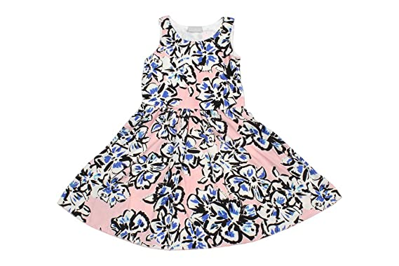 91b2e8bf927e Twist Girls Kids Printed Georgette Partywear Casual Frocks Dresses - Big Floral  Print in Pink,