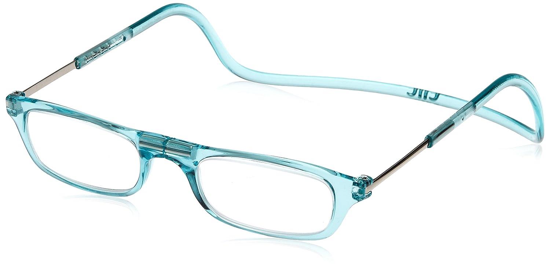 (クリックリーダー) Clic Readers 老眼鏡 B00NL8PHOC ブルーライトカット+3.00|ターコイズ ターコイズ ブルーライトカット+3.00
