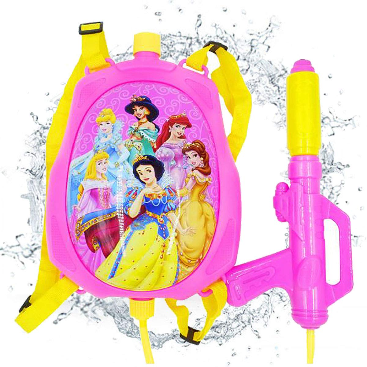 IDOXE Backpack Water Gun for Kids. Let Your Children Have Fun with High Capacity Super Soaker Squirt Gun. Enjoy Water Fight in Swimming Pool & Beach. ... (Princess) by IDOXE