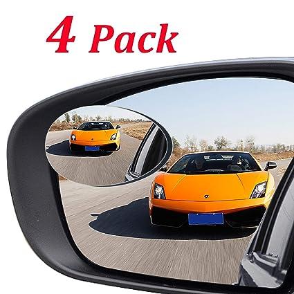 Amazon Com Kribin 4 Pack Blind Spot Mirror Hd Glass Wider View