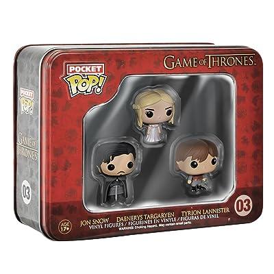 Funko Game of Thrones Pocket Pop! Mini Vinyl Figure Tin (3-Pack): Funko Pocket Pop!:: Toys & Games