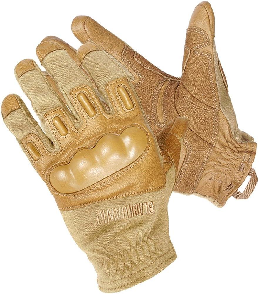 Blackhawk Men's Fury Commando HD Glove with Kevlar (Coyote Tan, Medium)