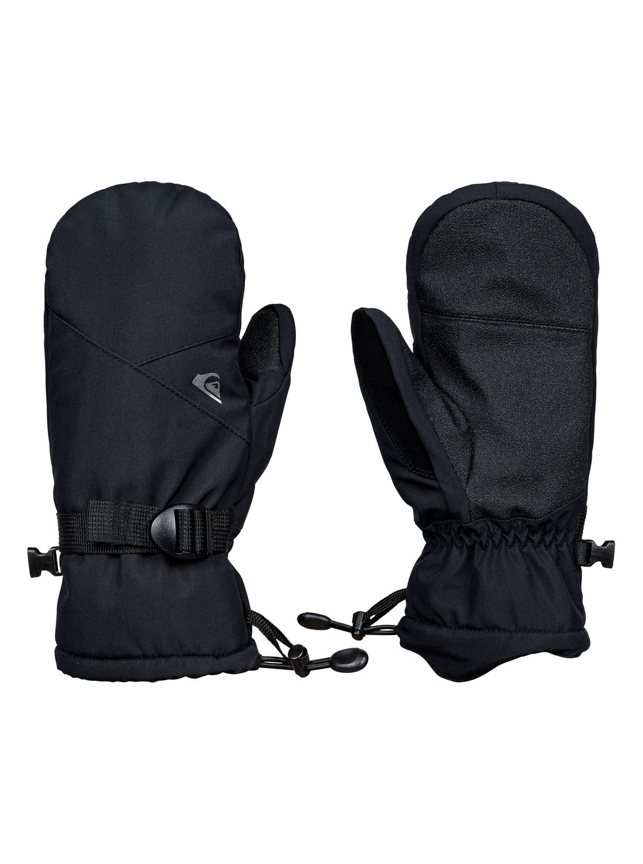 Quiksilver EQBHN03013 Boy's 8-16 Mission Gloves, Black - S
