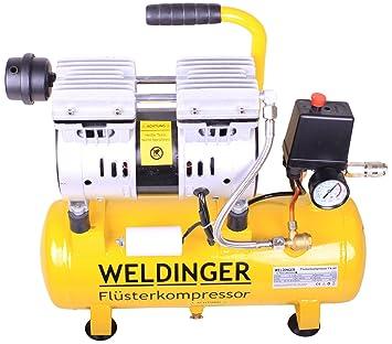 Compresor silencioso FK 60/90/120/270/360 de Weldinger, potencia