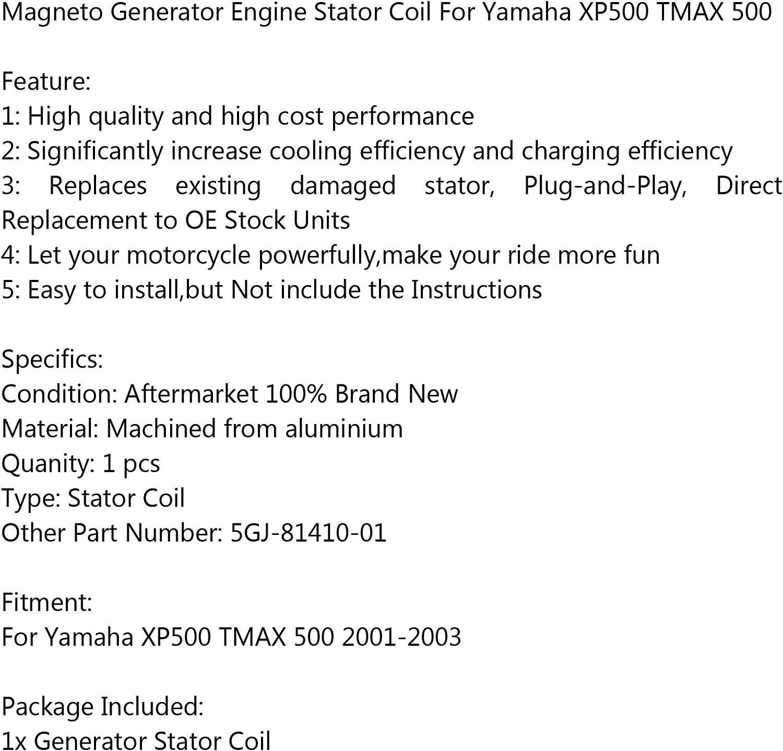 Areyourshop Generatore Bobina Statore 5GJ-81410-01 per Yamaha XP500 TMAX 500 2001-2003