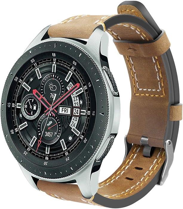 para Samsung Galaxy Watch de Pulsera de Correa de muñeca de Reloj de Acero Inoxidable Correa de Diamante de Acero de 46mm