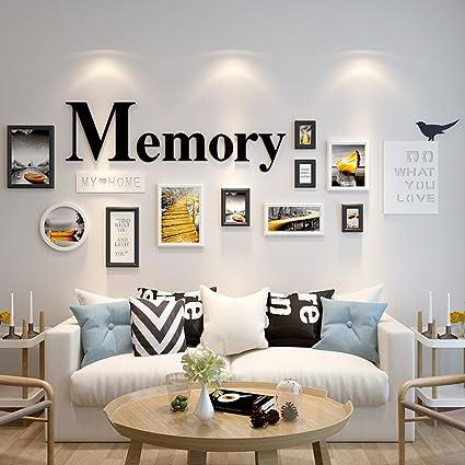 Amazon Living Room Photo Wall Decoration Bedroom Solid Wood Inspiration Wall Decoration Bedroom
