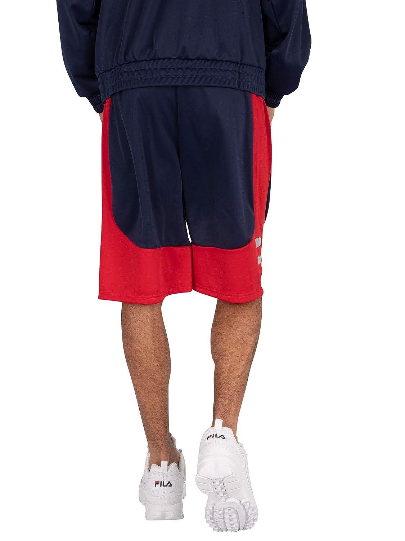 Fila de los Hombres Shorts de chándal Aries, Azul: Amazon.es: Ropa ...