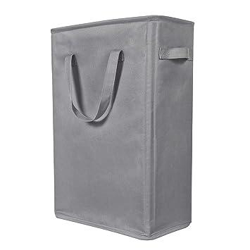 Amazon.com: Cesta para la ropa sucia WOWLIVE de 22.0 in ...