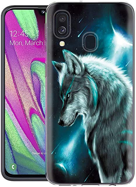Yoedge Funda Samsung Galaxy A40, Ultra Slim Cárcasa Silicona ...