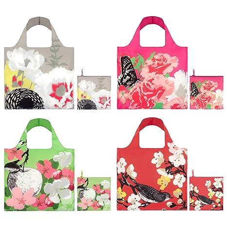 b96e8257f9d0 Amazon.com  LOQI Prima Collection Pouch Reusable Bags