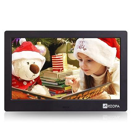 Amazon.com: Arzopa 10-inch IPS Widescreen Digital Photo Frame HD 16 ...