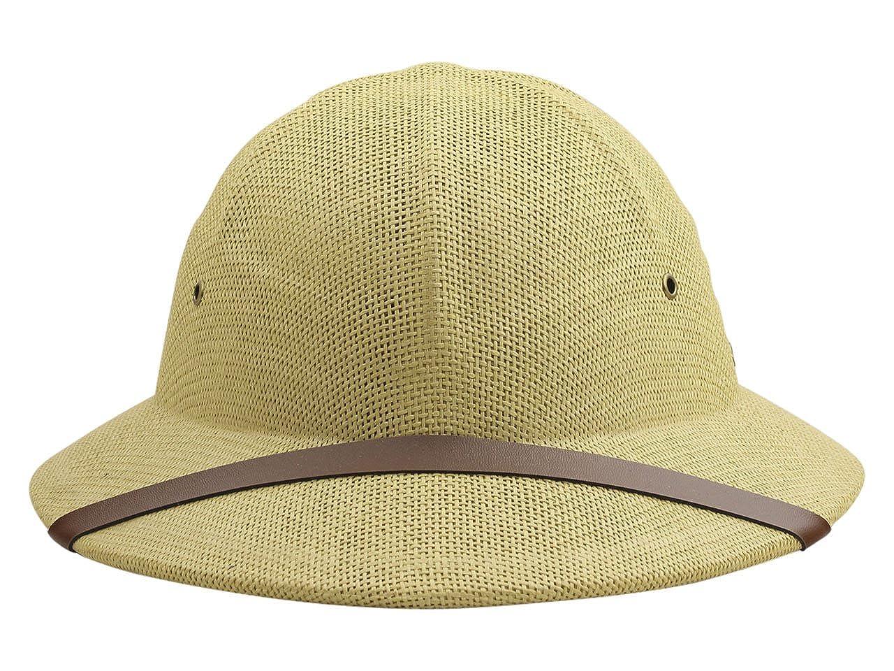 ff0f76402f5e6 Amazon.com  DPC Global Trends Men s Fine Twisted Toyo Pith Helmet ...