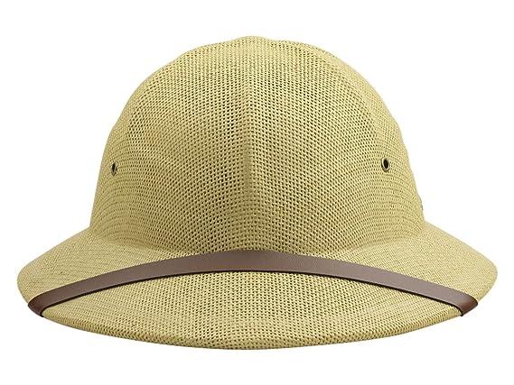 a5945697536e8 Amazon.com  DPC Global Trends Men s Fine Twisted Toyo Pith Helmet ...
