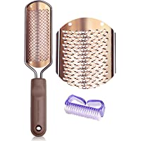 Pedicure Foot File Callus Remover - Foot Scrubber Pedicure Tools for Dead Skin BTArtox Colossal Foot Rasp Professional Stainless Steel Callus Remover for Extra Soft and Beautiful Feet Care