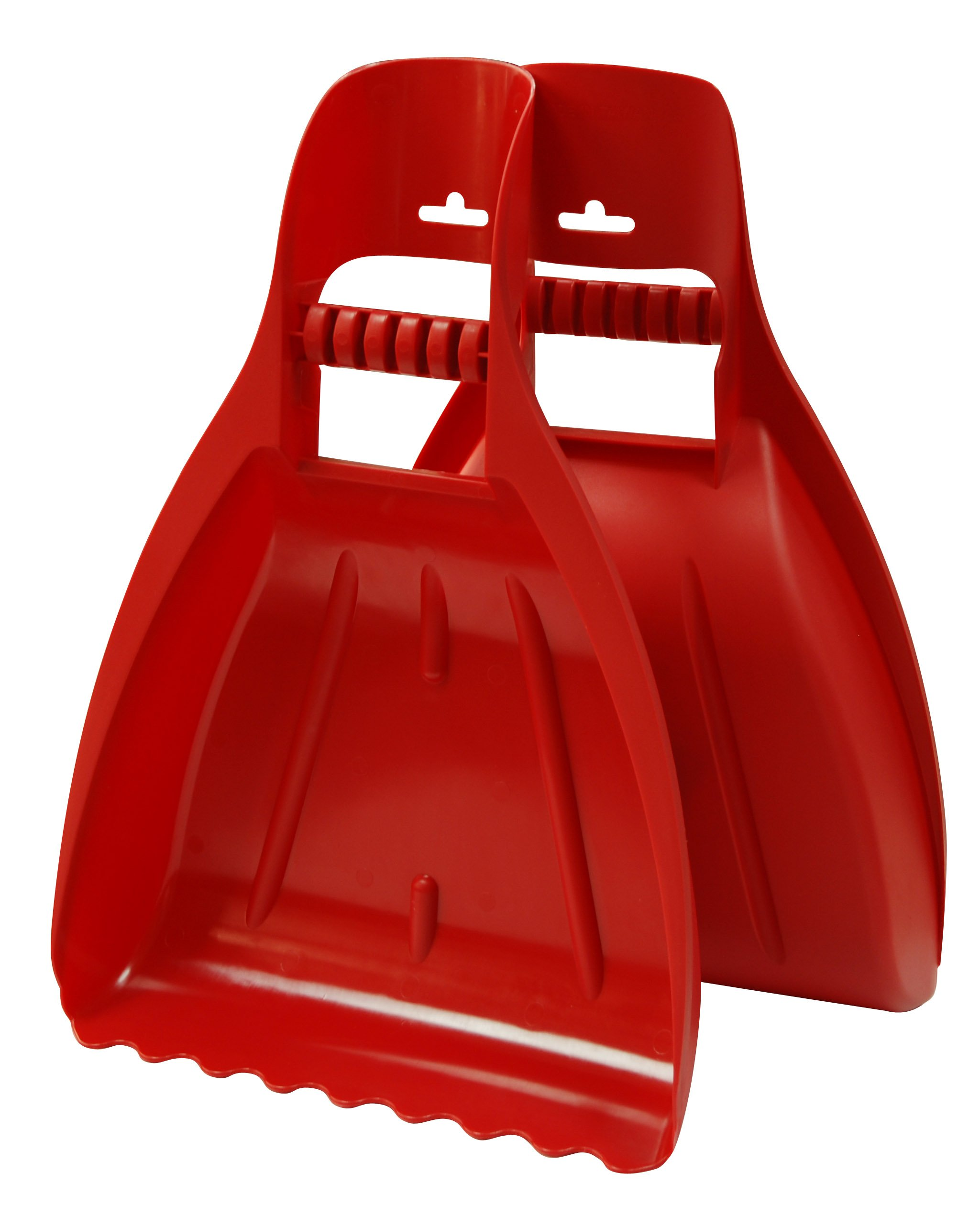 TABOR TOOLS LS12A Leaf Scoops, Rake Hands, Leaf Grabbers, Garden and Yard Hand Rakes for Picking Up Leaves, Grass Clippings, Debris and Garbage. (1 Pair)