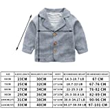 Toddler Baby Boy Blazers Coat,Infant Casual Gray