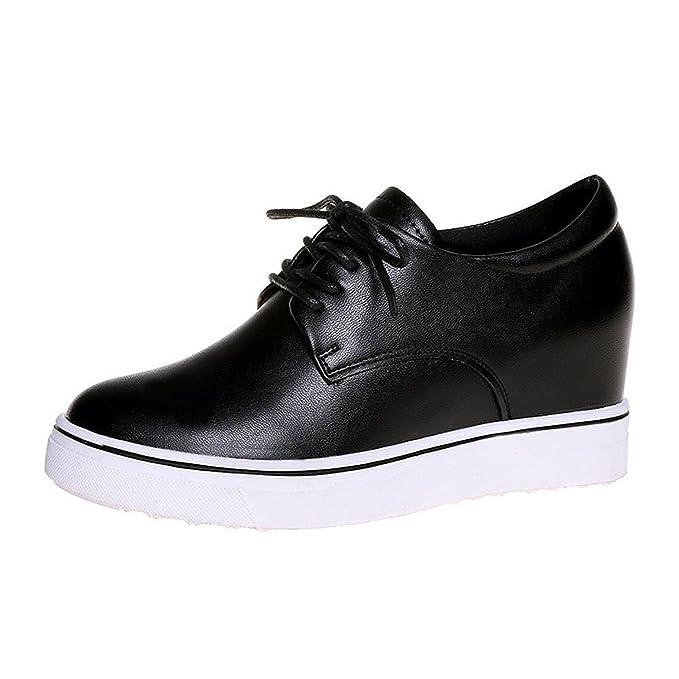 Mine Tom Mujer Zapatos Deportivos Casual Zapatillas Moda Lazada Plataforma Zapatos Botas: Amazon.es: Zapatos y complementos