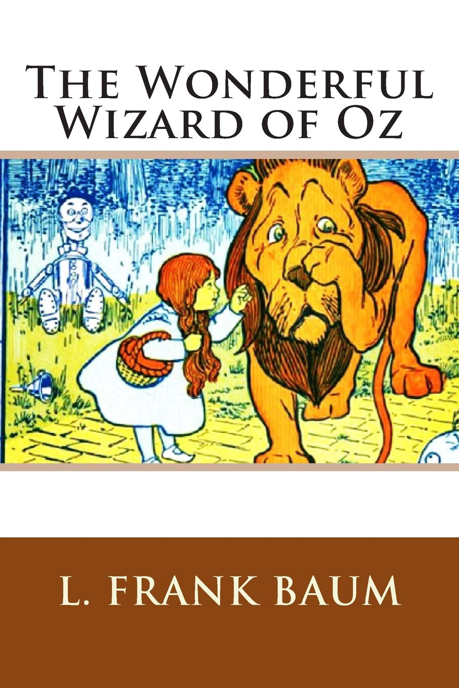The Wonderful Wizard Of Oz Baum L Frank 9781505280951 Books