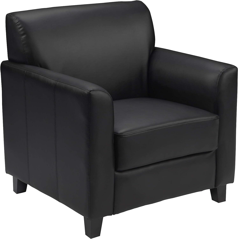 Flash Furniture HERCULES Diplomat Series Black Leather Chair