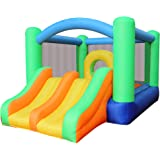Amazon.com: GOFLAME - Casa hinchable de salto con red ...