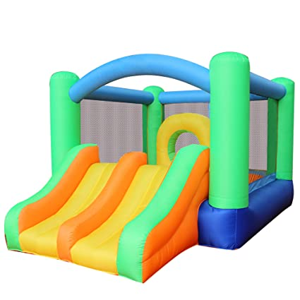 ed4d4dc12 Amazon.com  RETRO JUMP Inflatable Bounce House Slides Moonwalk ...