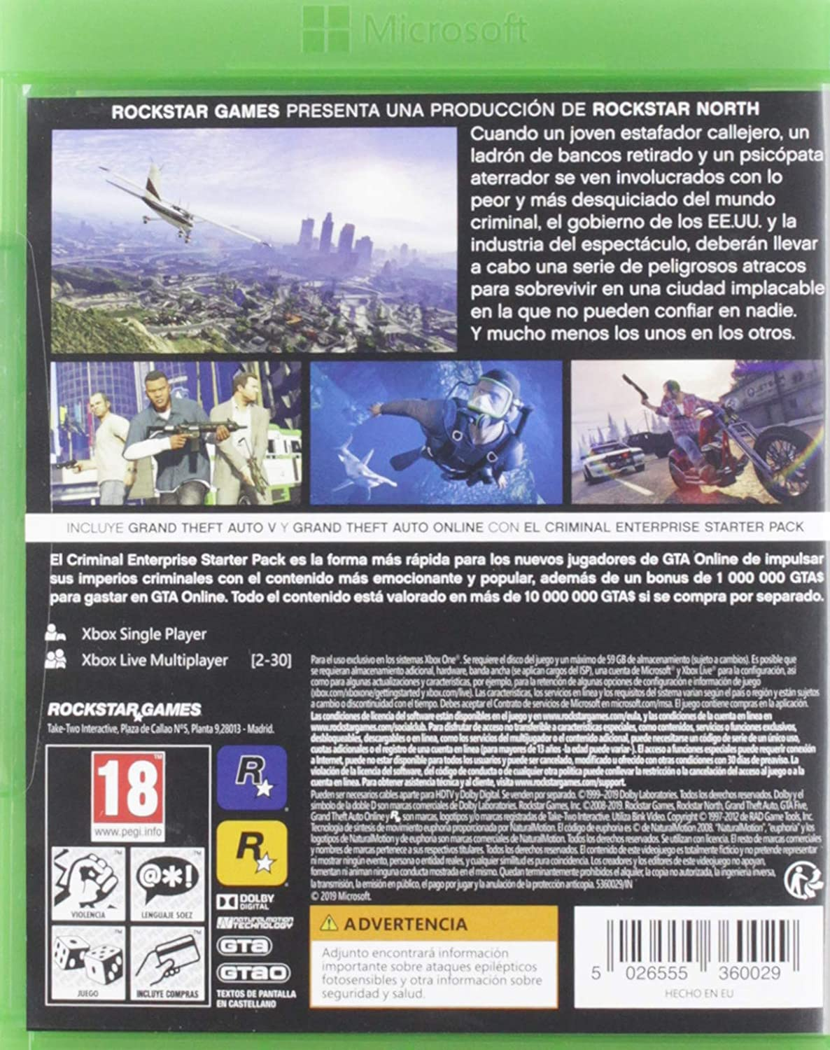 Grand Theft Auto V (GTA V) (PC): Amazon.es: Videojuegos