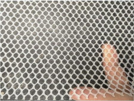 NIUFHW Red de Jardín Balcón, Gruesa Red de Plástico Puede Cortar Niños Escalera Red de Seguridad, Hierba Pesada Red de Protección, Pollo Conejo Gusano de Seda Mariposa Abeja Animal Red de Valla: