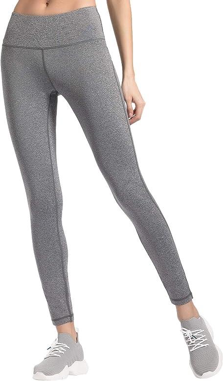ec53c3731f QUEENIEKE Women Power Stretch Leggings Plus Size Medium Waist Yoga Pants  Hidden Pocket Running Tights Size
