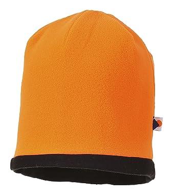 72ee5e96c3d Portwest HA14OBR Series HA14 Reversible Hi-Vis Beanie Hat
