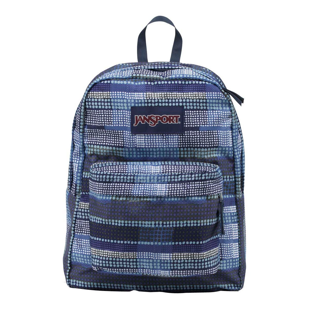 Jansport Girls ' Superbreakバックパックmulti-purple-green B01A69QC7Y