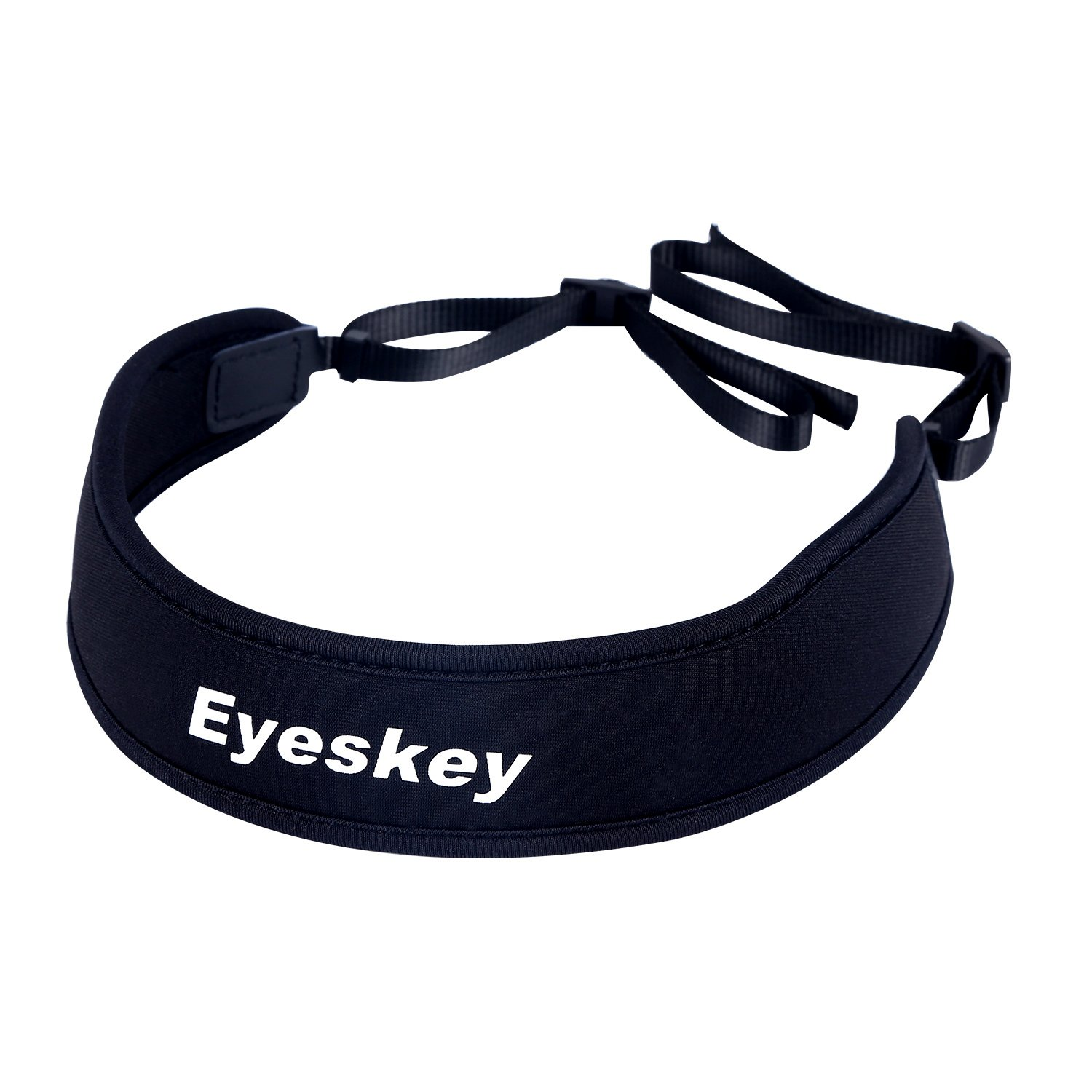 Eyeskey Soft Black Universal Camera/Binoculars Shoulder Strap Neck Belt, Comfortable and Stylish, High Quality