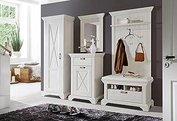 Lifestyle4living Garderobe Set Flurmobel Flurgarderobe