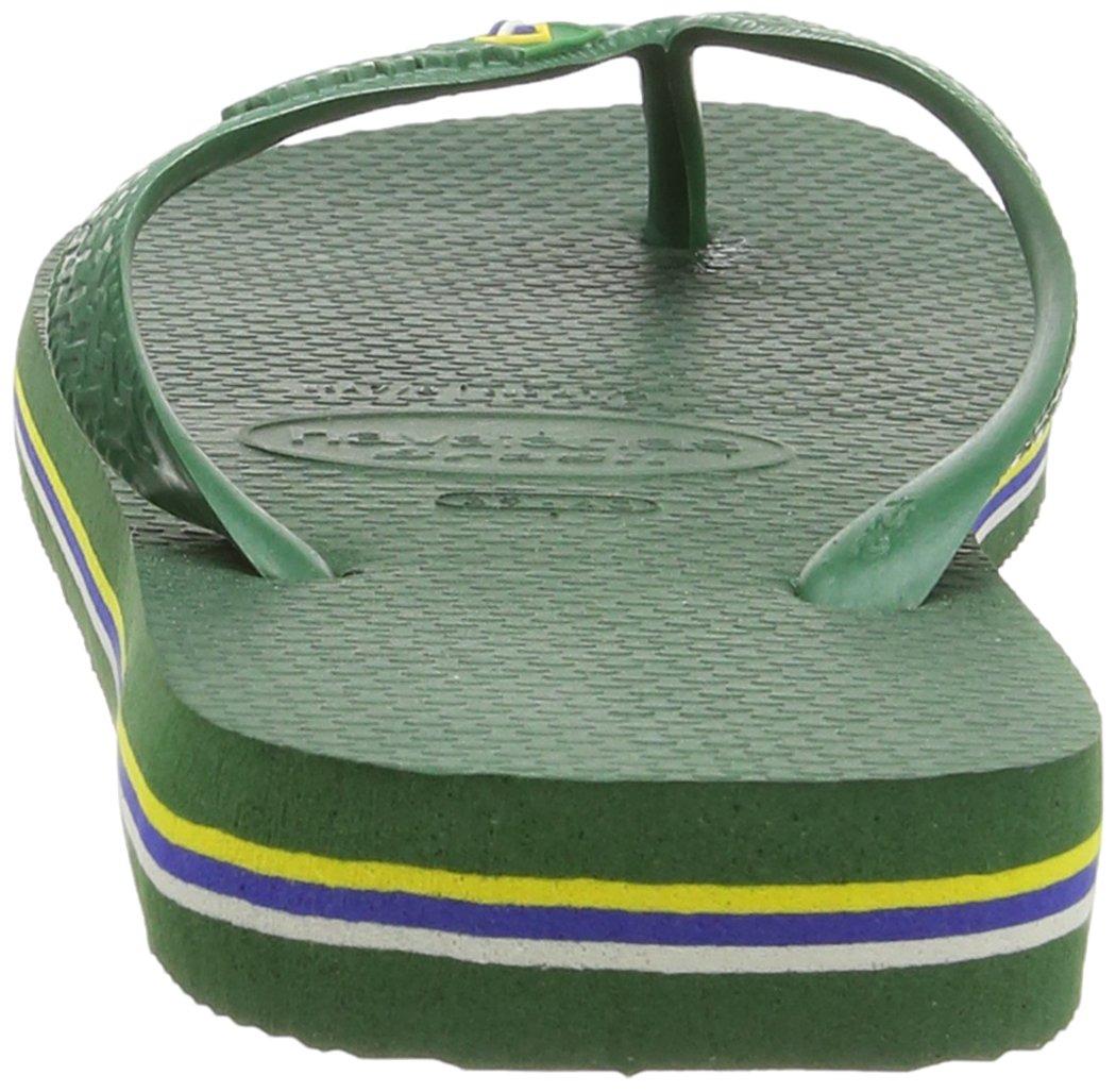 Havaianas Brasil, Unisex Adult's Flip Flops, Green (Brasil Amazonia), 3/4 UK (37/38EU) (35/36 BR) by Havaianas (Image #3)