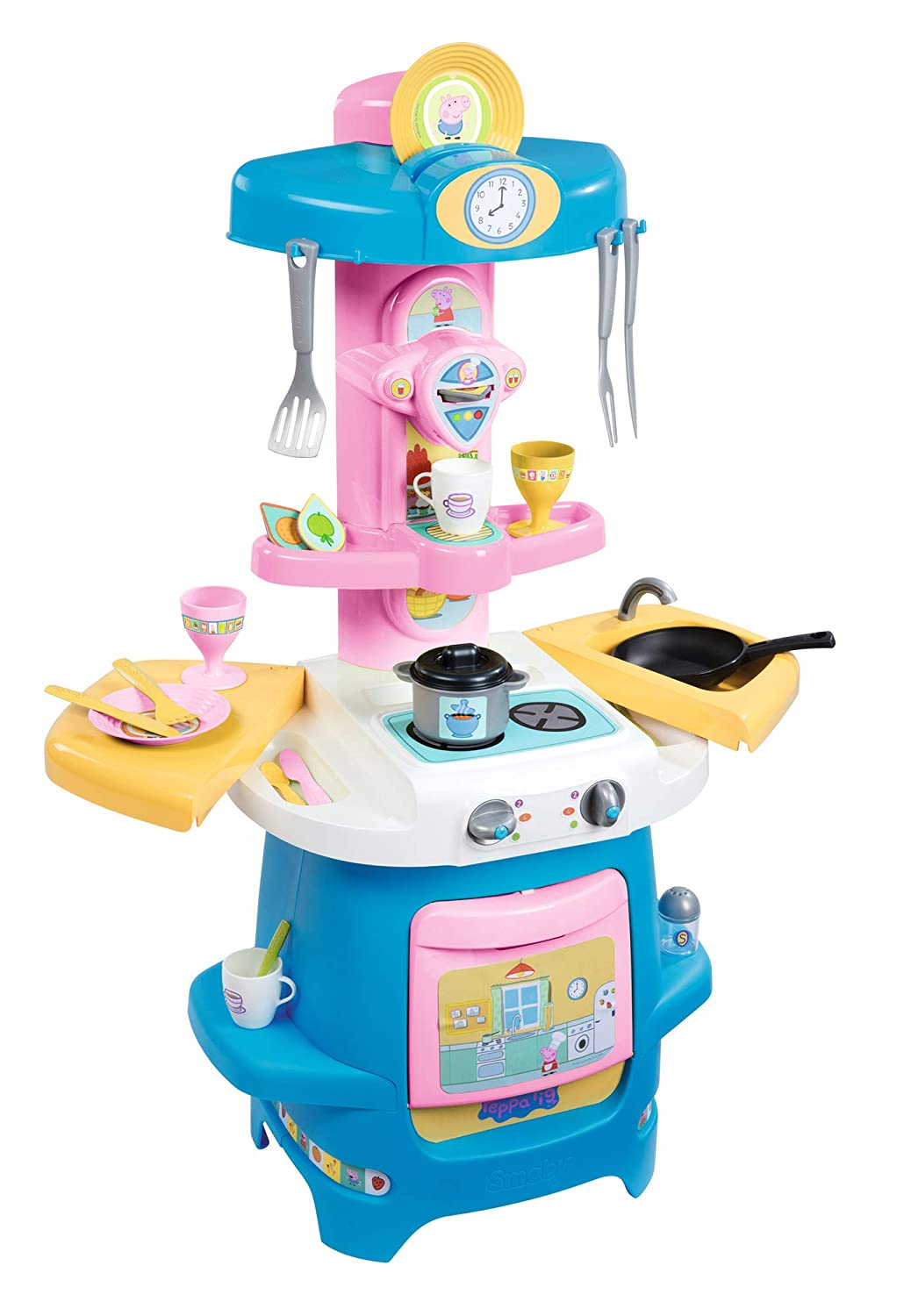 Buy Smoby Peppa Cooky Küche Online at Low Prices in India - Amazon.in