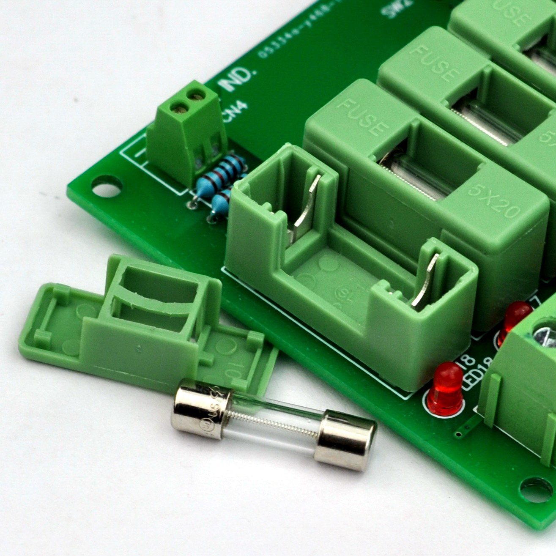 Electronics-Salon 18 Channels 12V/24V 20A Power Distribution Fuse Module, For CCTV Security Camera ect DIY. by Electronics-Salon (Image #6)