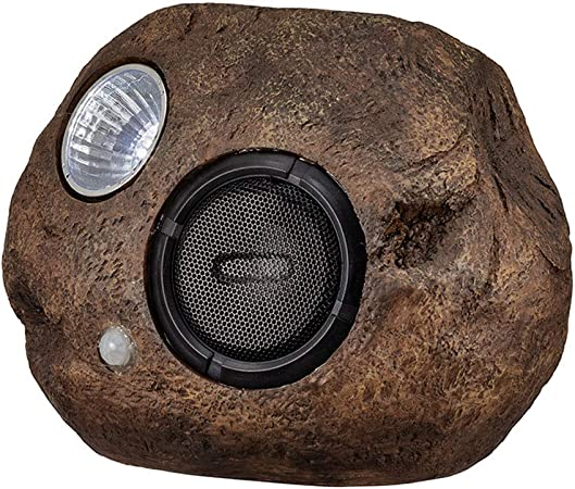 TINGYIN Stone Styling - Altavoz de jardín para Exteriores, Altavoz Solar con Bluetooth, Impermeable, Bluetooth: Amazon.es: Hogar