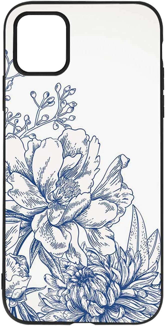 Amazon Com Floral Background With Flowers Iphone 11 Case 101771