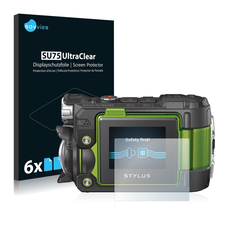 savvies Protector Pantalla Compatible con Olympus TG-Tracker (6 ...