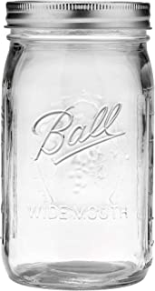product image for Ball Wide Mouth Quart 32-Ounces Mason Jar with Lid and Band