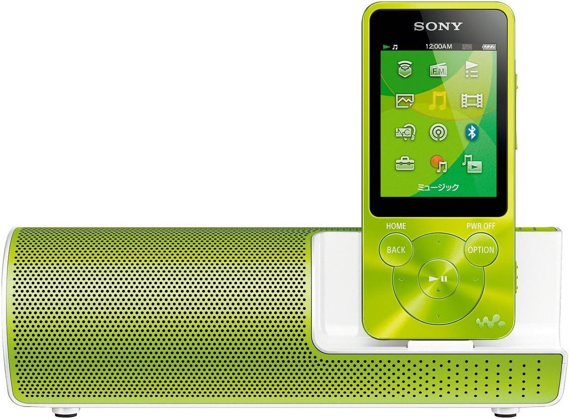Amazon ソニー Sony ウォークマン Sシリーズ Nw S14k 8gb Bluetooth対応 イヤホン スピーカー付属 14年モデル グリーン Nw S14k G ソニー Sony 家電 カメラ