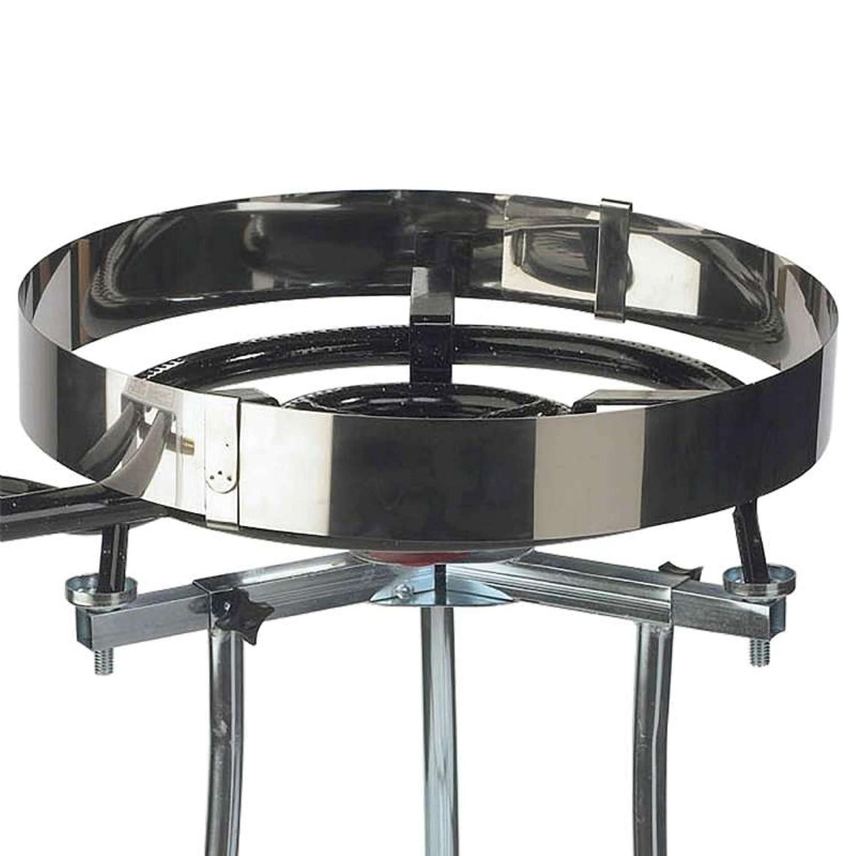 Vaello Campos 5900-Paravento in acciaio Inox bruciatore da 300 a 500 mm