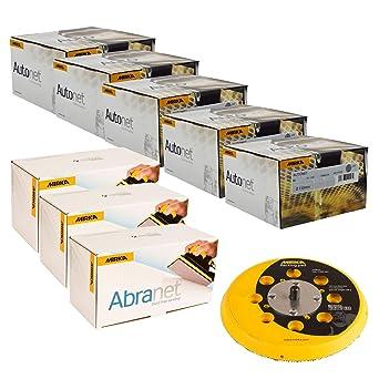 50 per Pack MIRKA Autonet Discs Grit P80-150mm